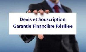 Garantie Financière résiliée